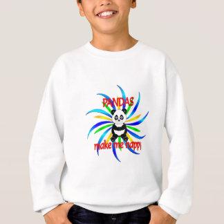 Pandas Make Me Happy Sweatshirt