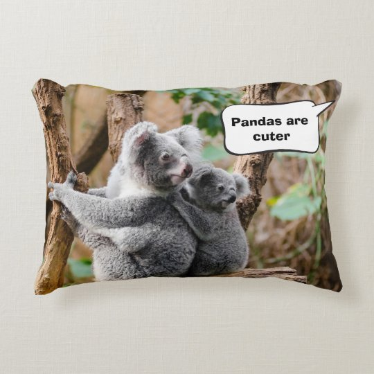 Pandas or Koalas - Which are cuter? Accent Pillow