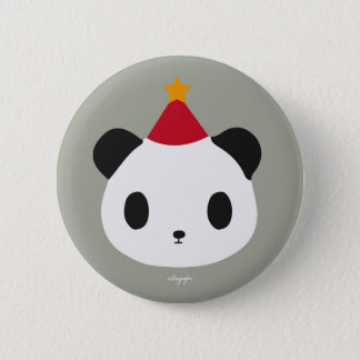 Panda's Party 2 Inch Round Button