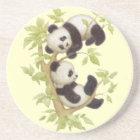 Panda's Playing in a Tree Coaster