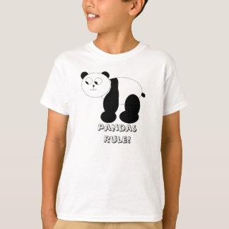 """Pandas Rule!"" Kid's T-Shirt"