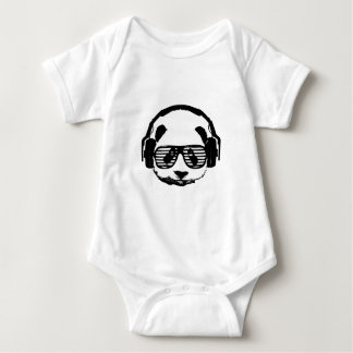 Pandaz In Da House Baby Bodysuit