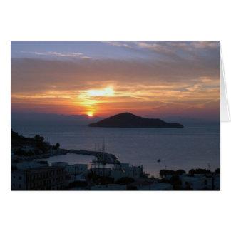 Pandeli Sunrise Card