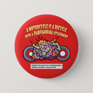 Pandemonium Attachment 2 Inch Round Button