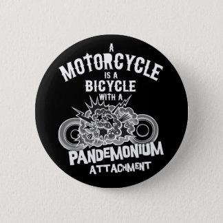 Pandemonium Attachment -bw 2 Inch Round Button
