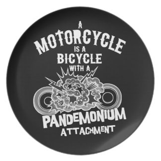 Pandemonium Attachment -bw Plate