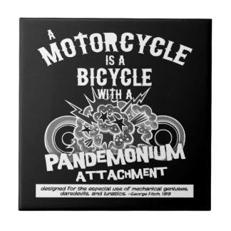 Pandemonium Attachment -bw Tile