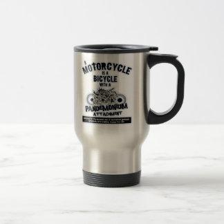 Pandemonium Attachment -bw Travel Mug