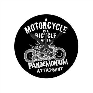 Pandemonium Attachment -bw Wallclock