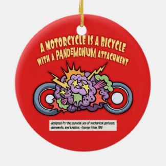 Pandemonium Attachment Ceramic Ornament