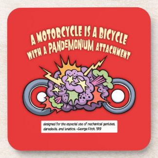 Pandemonium Attachment Coaster