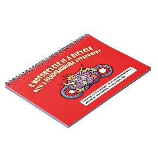 Pandemonium Attachment Notebook