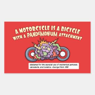 Pandemonium Attachment Sticker