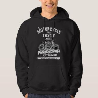 Pandemonium b/w hoodie