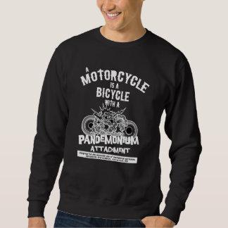 Pandemonium b/w sweatshirt