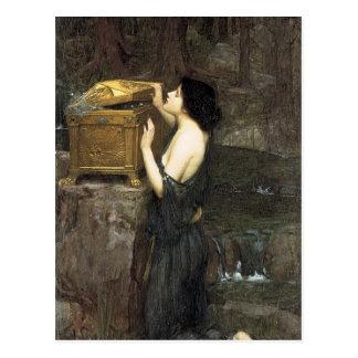 PaNDoRA, by John William Waterhouse, 1896 Postcard