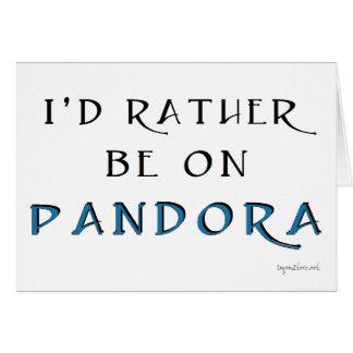 Pandora Card