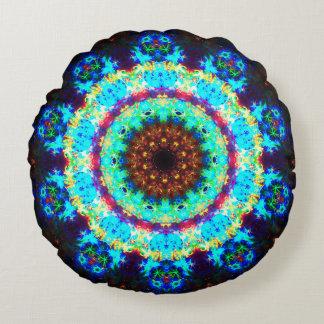 Pandora Flower Mandala Round Pillow