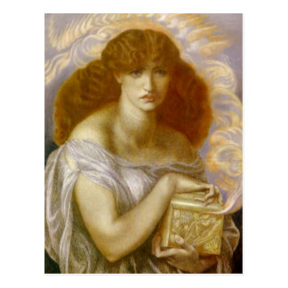 Pandora Opens Gold Box Postcard