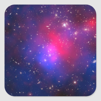 Pandora's Cluster - Abell 2744 Galaxies Square Stickers