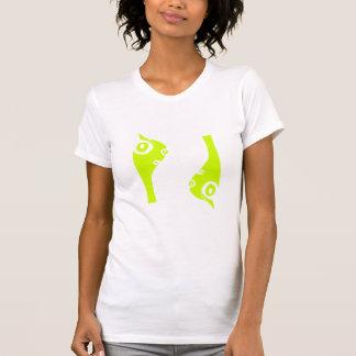 pandrava worm - green front shirt