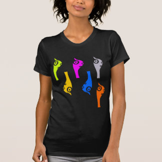 pandrava worm - multicolor front t-shirt