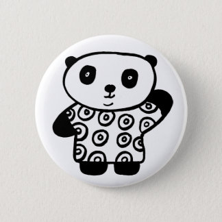 Pandy the Panda 2 Inch Round Button