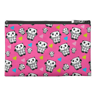 Pandy the Panda Bright Hearts Travel Accessory Bag