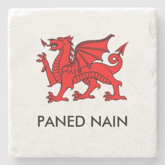 Paned Nain - Grandma's Cuppa North Welsh Coaster