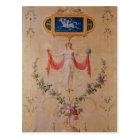 Panel from the boudoir of Marie-Antoinette Postcard