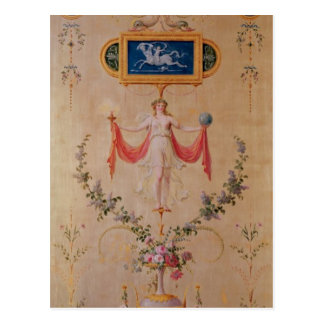 Panel from the boudoir of Marie-Antoinette Postcard