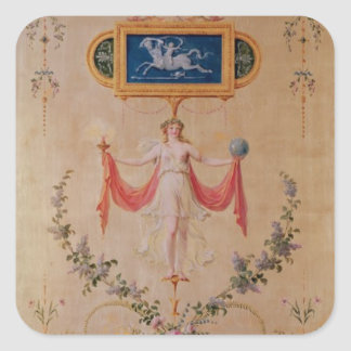 Panel from the boudoir of Marie-Antoinette Square Sticker