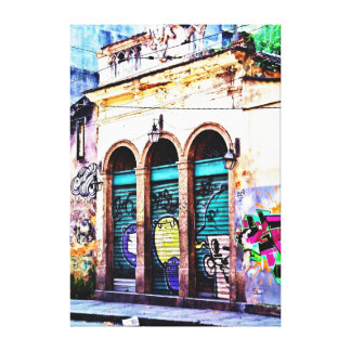 Panel in Canvas Brazilian Art - Teresa Saint in