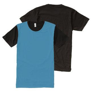 Panel T-Shirt Colour: #006292 DIY add image text