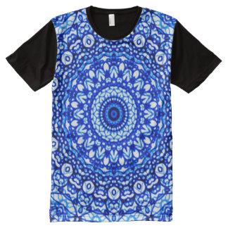 Panel T-Shirt Mandala Mehndi Style G403