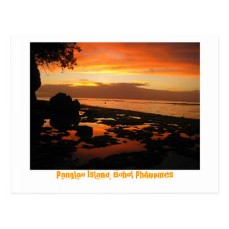 Panglao Island, Bohol Philippines Postcard