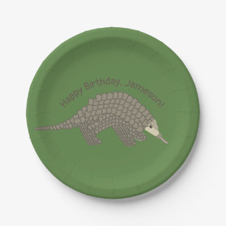 Pangolins Birthday Party Paper Plates