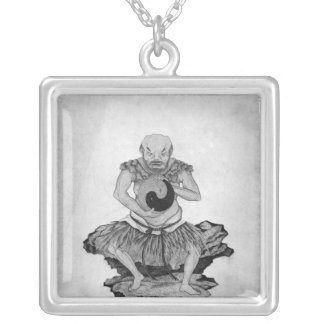 Pangu Silver Plated Necklace