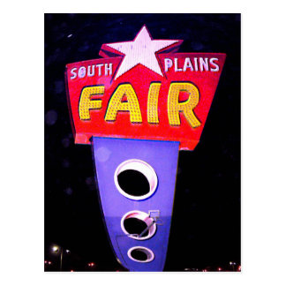 Panhandle South Plains Fair Postcard