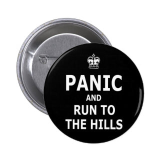 Panic 2 Inch Round Button