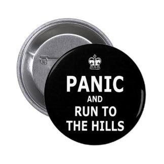 Panic 2 Inch Round Button