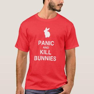 Panic and Kill Bunnies T-Shirt