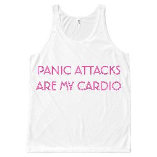 PANIC ATTACKS ARE MY CARDIO