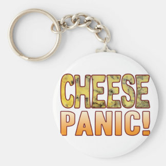 Panic Blue Cheese Basic Round Button Keychain