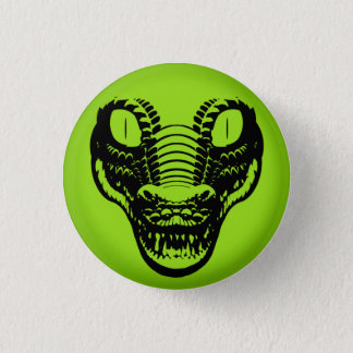 Panic Button Alligator Avatar pin badge
