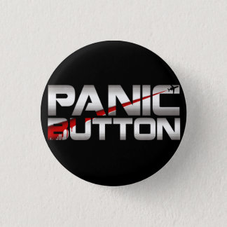 Panic Button Chrome Slash Badge