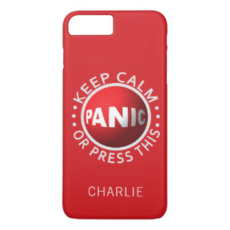 Panic Button custom name phone cases