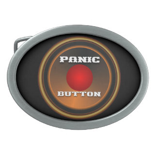 Panic Button Customize Edit Change Background Colo Belt Buckle