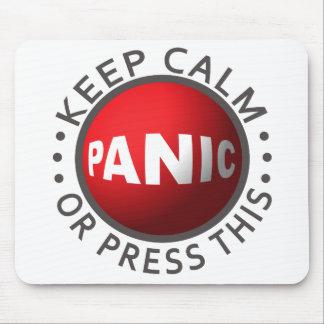 Panic Button mousepad