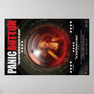 Panic Button Screaming Lens Poster